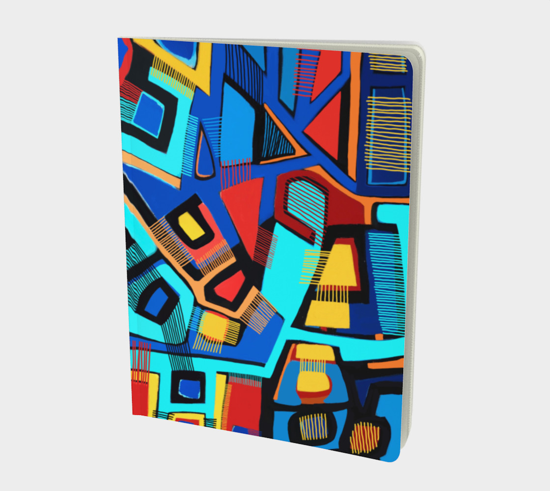 Blue Jazz Large Notebook preview #1
