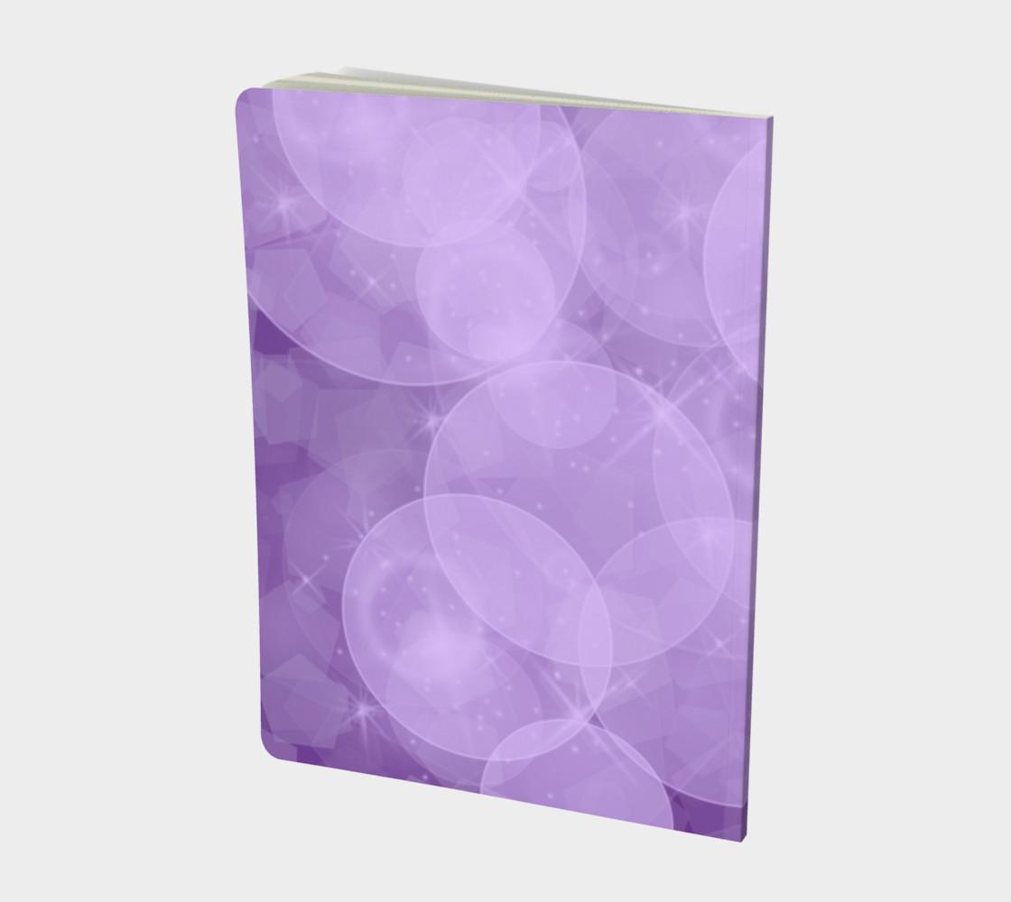 Purple Bubbles Notebook preview #2