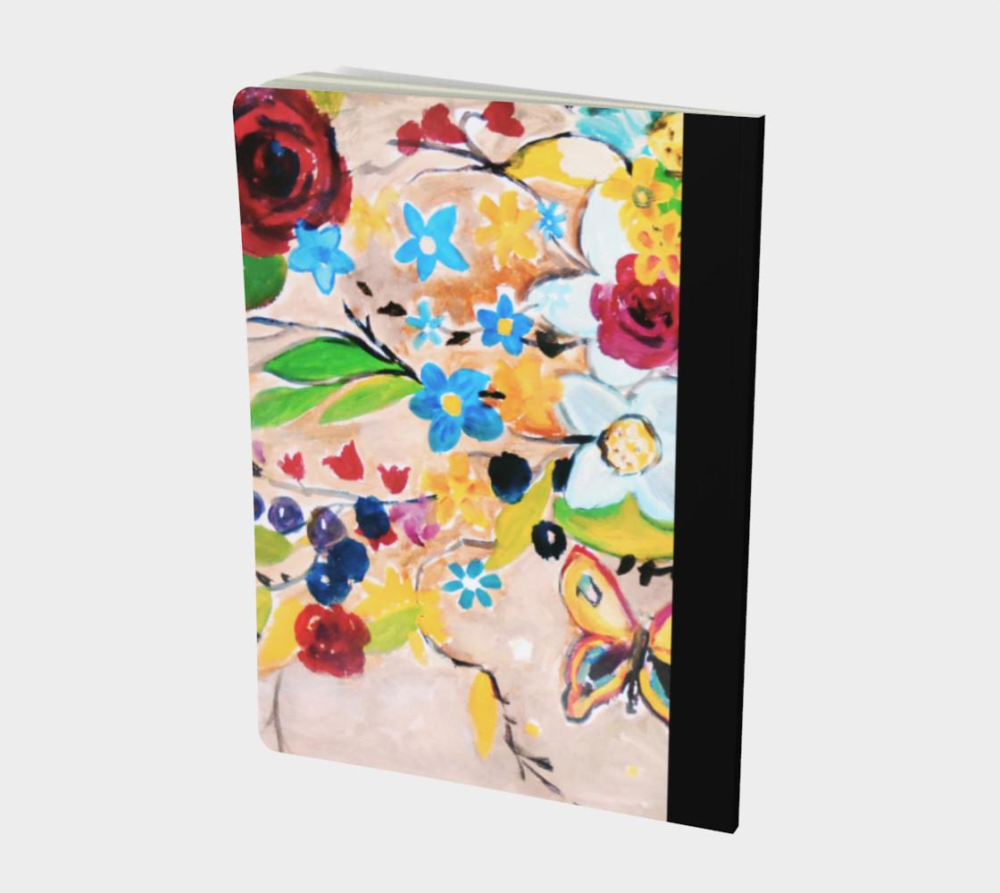 Bohemian Morning Garden Notebook preview #2