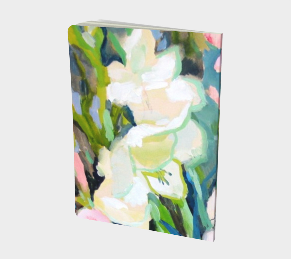 Gladiolus. Sword Lily. Watercolor Flower. Bouquet. preview #2