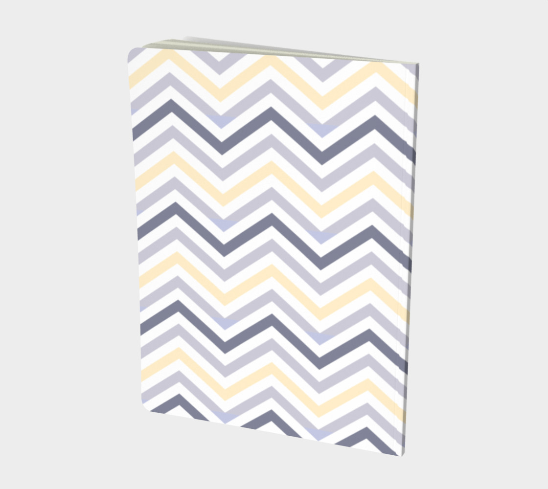 Yellow chevron - notebook preview #2