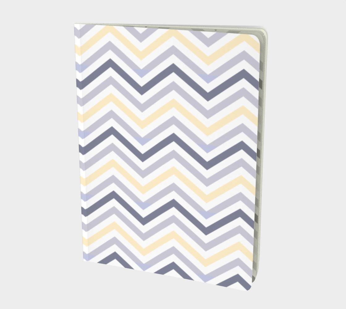 Yellow chevron - notebook preview #1