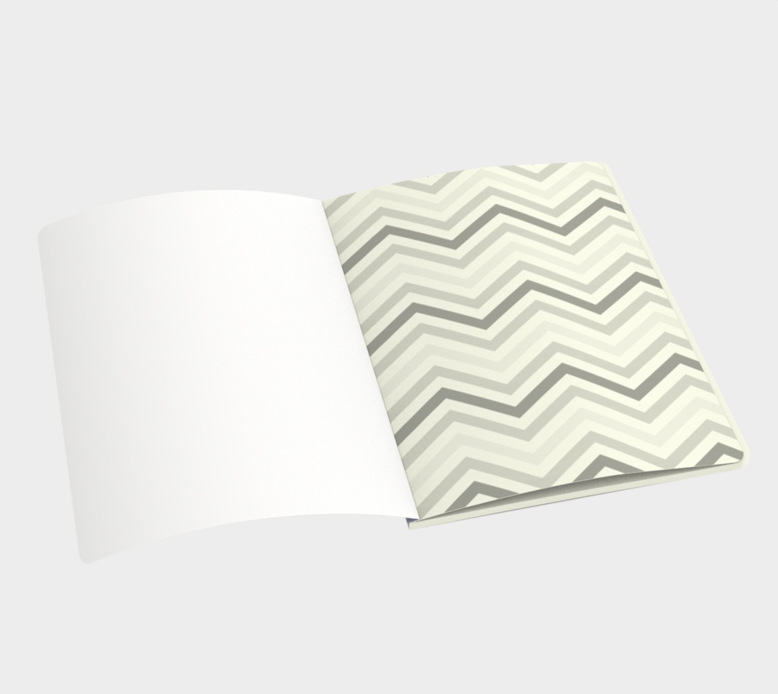 Yellow chevron - notebook preview #3