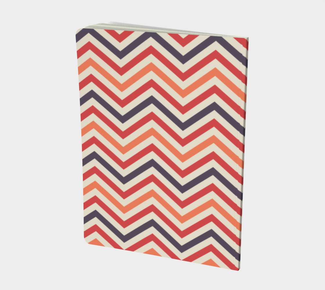 Red chevron - notebook preview #2