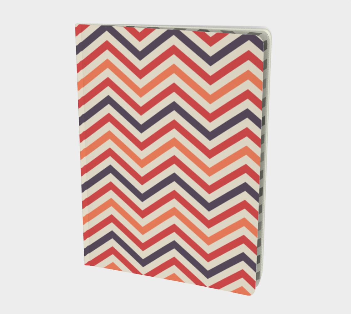 Red chevron - notebook preview #1