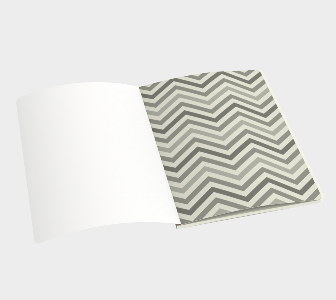 Red chevron - notebook preview #3