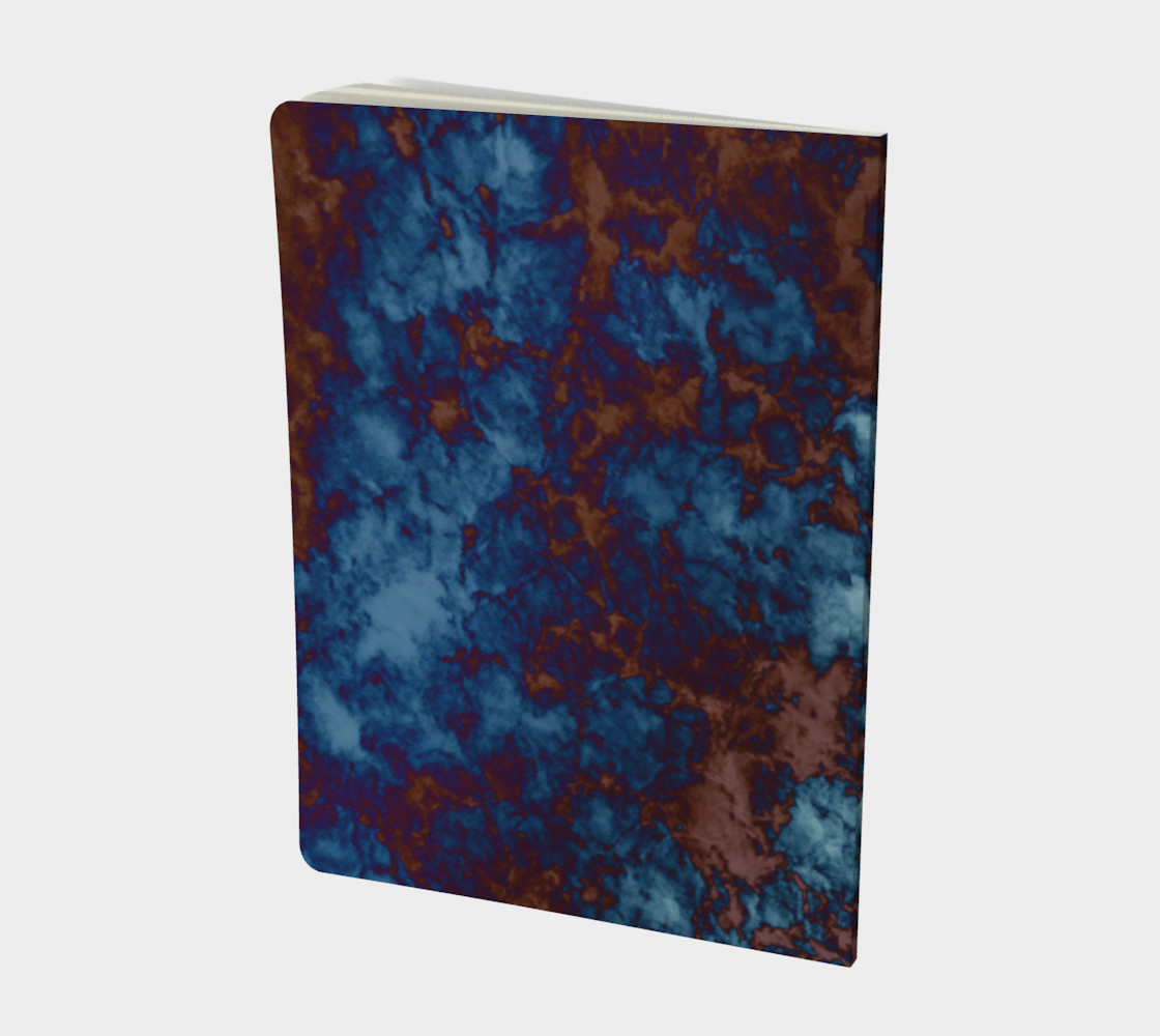 Tie-Dye Sky in Brown and Blue preview #2