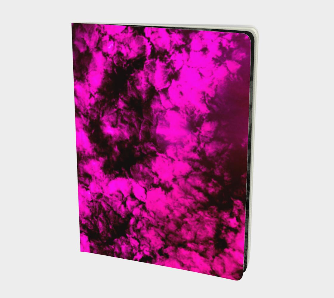 Tie-Dye Sky in Hot Pink preview #1