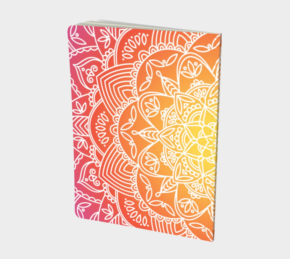Aperçu de Trendy Gradient Mandala Design #2