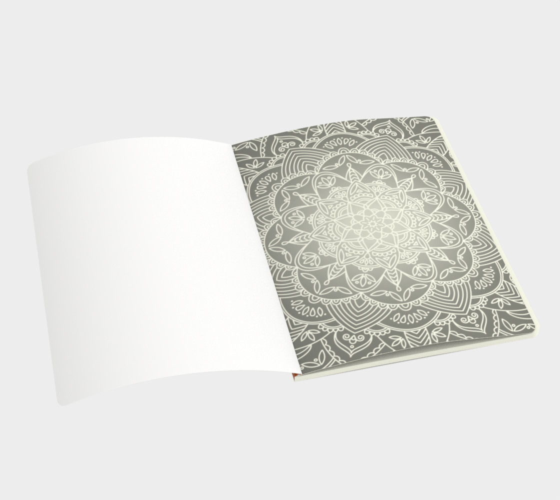 Aperçu de Trendy Gradient Mandala Design #3