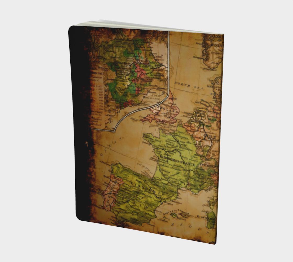 Aperçu de Arty Vintage Old World Map of Europe 1740 #2