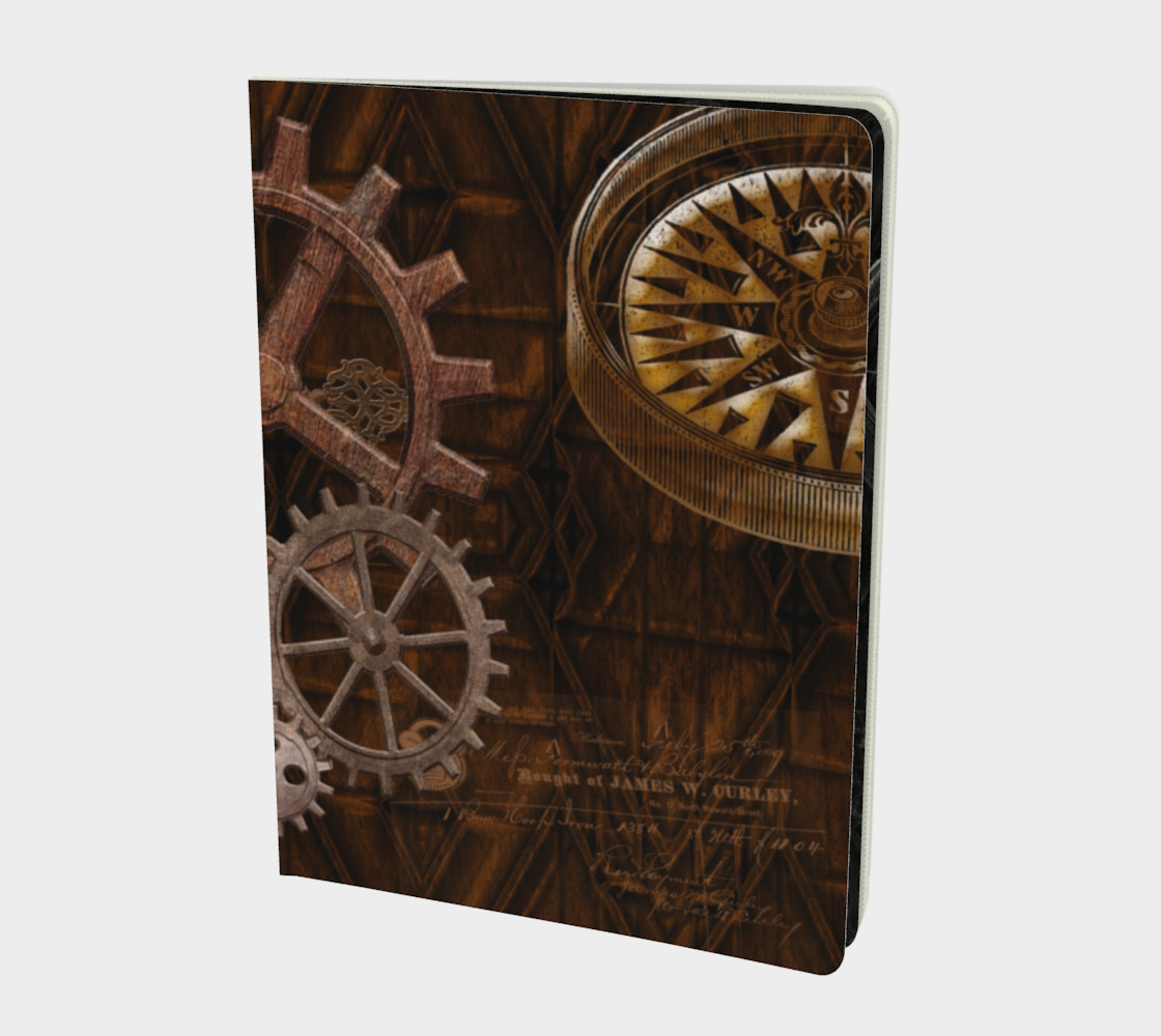 Steampunk Cogs and Gears Miniature #2