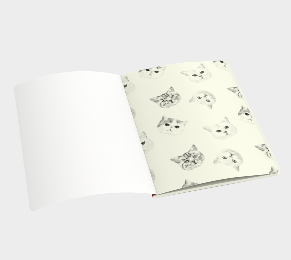 Glitter Cats Notebook preview #3
