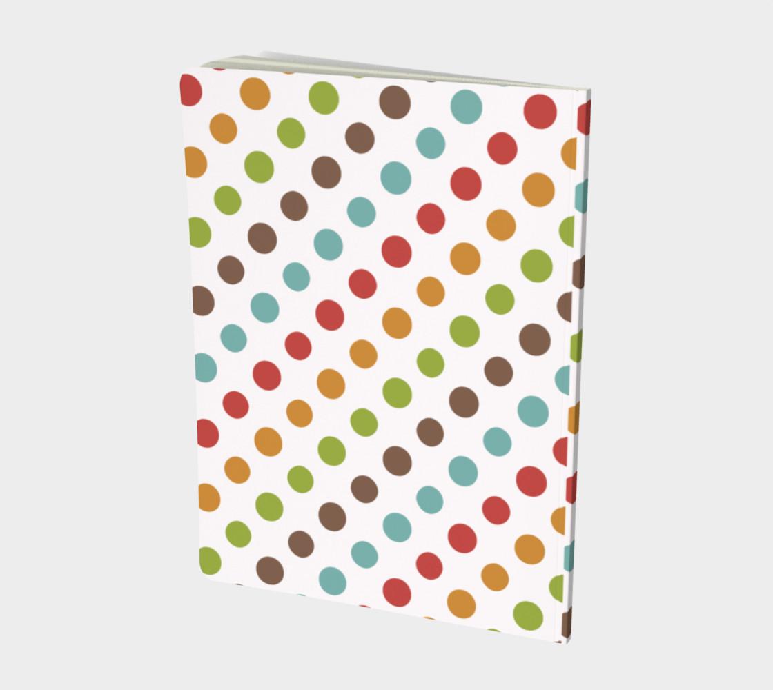Modern Dots Notebook preview #2
