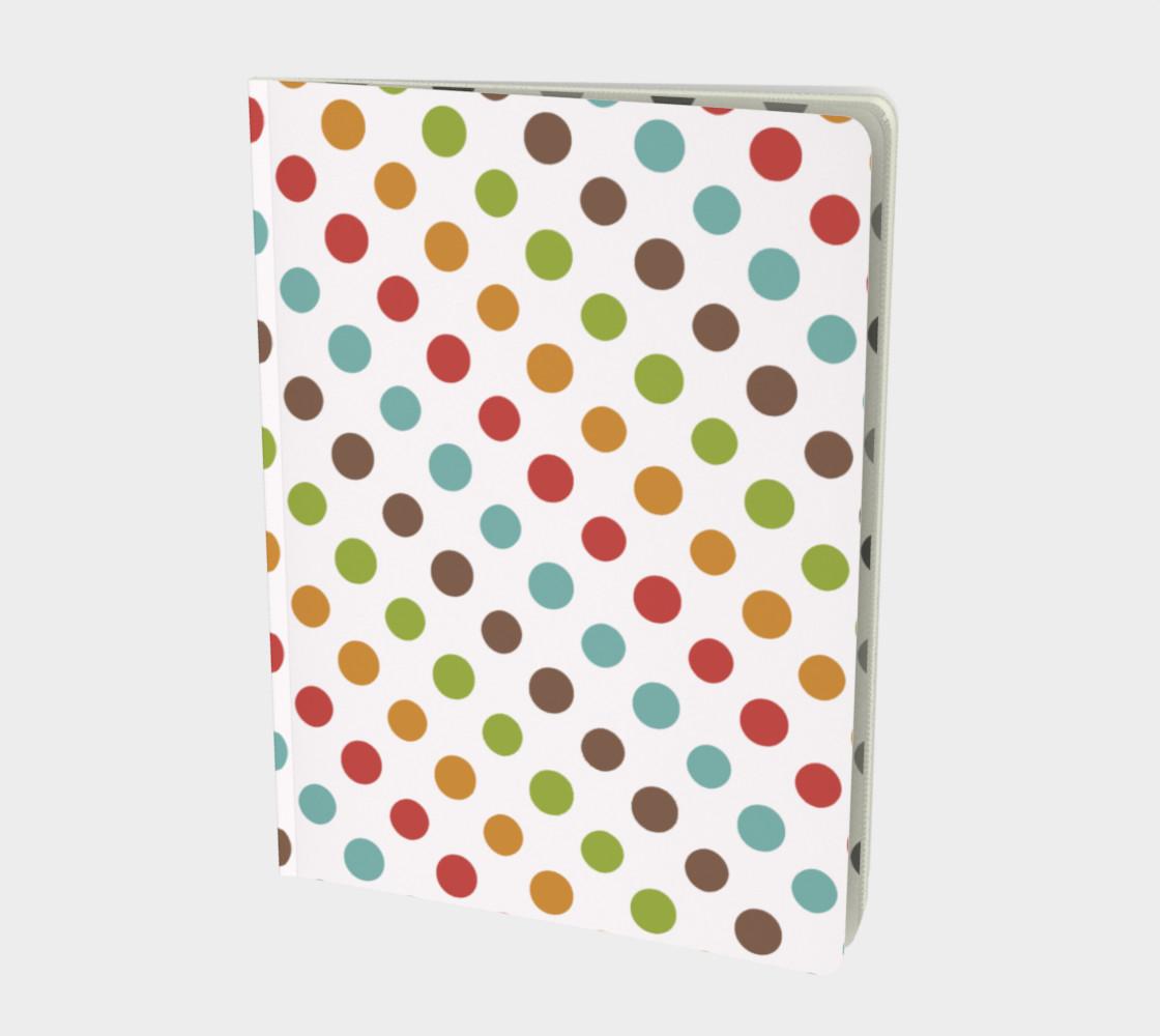 Modern Dots Notebook preview #1