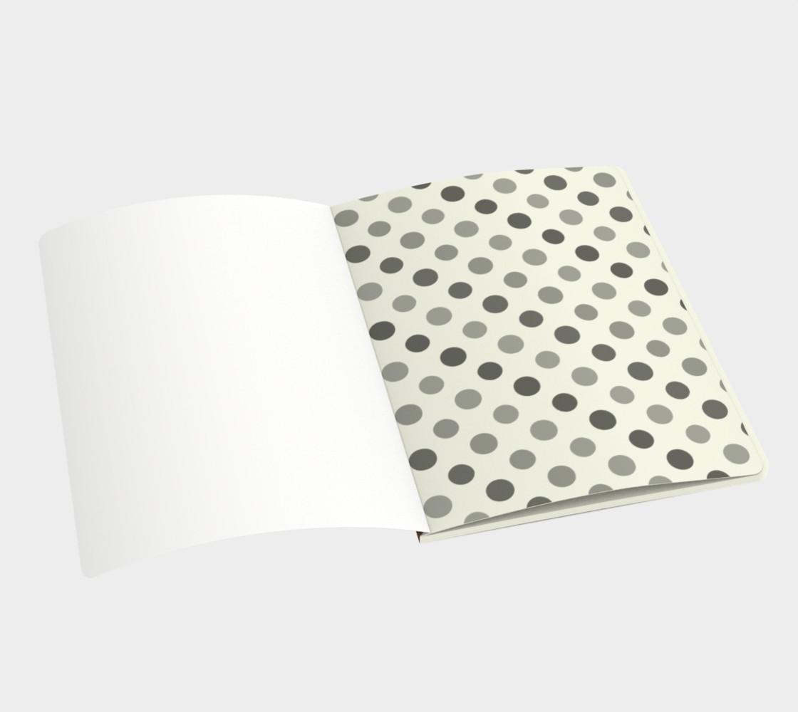 Modern Dots Notebook preview #3