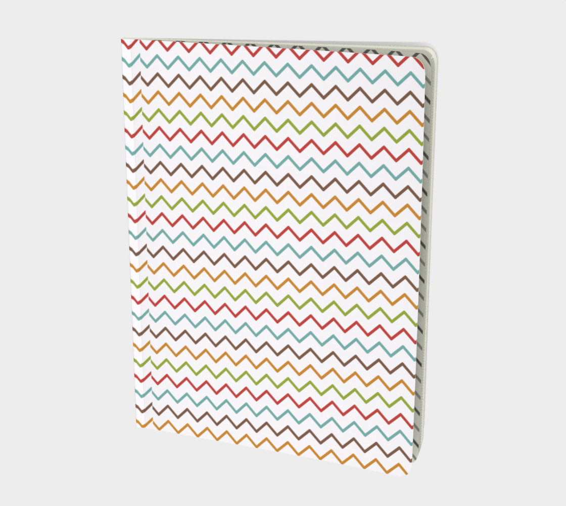 Modern Waves Notebook 3D preview