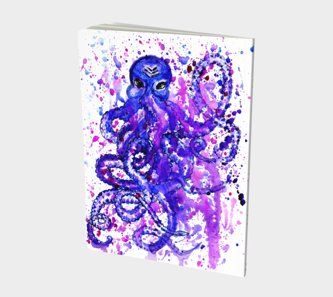 Violet octopus preview #2