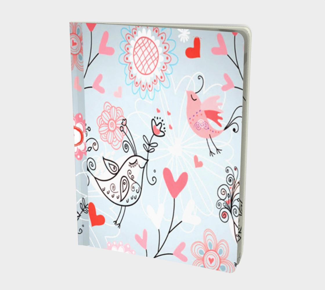 cute love birds Notebook preview #1