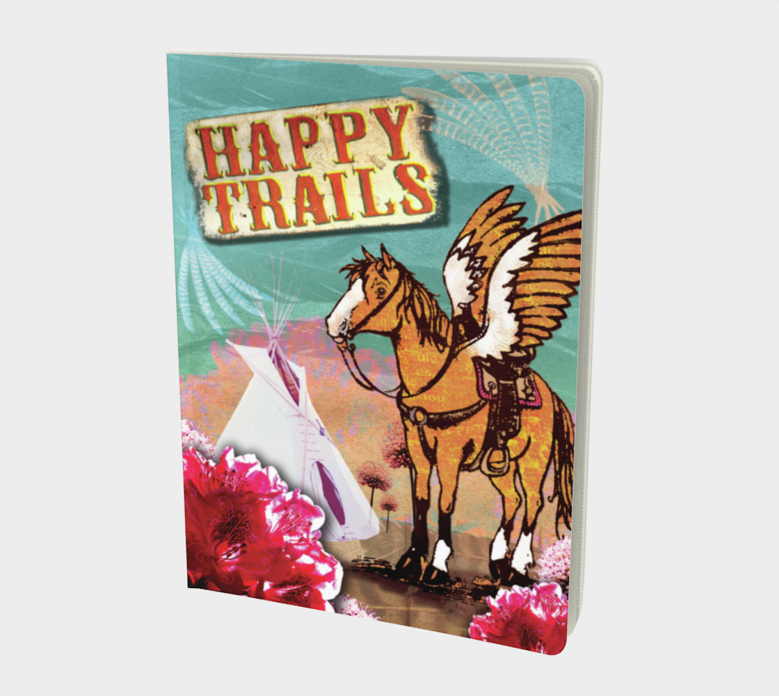 Happy Trails Notebook preview #1
