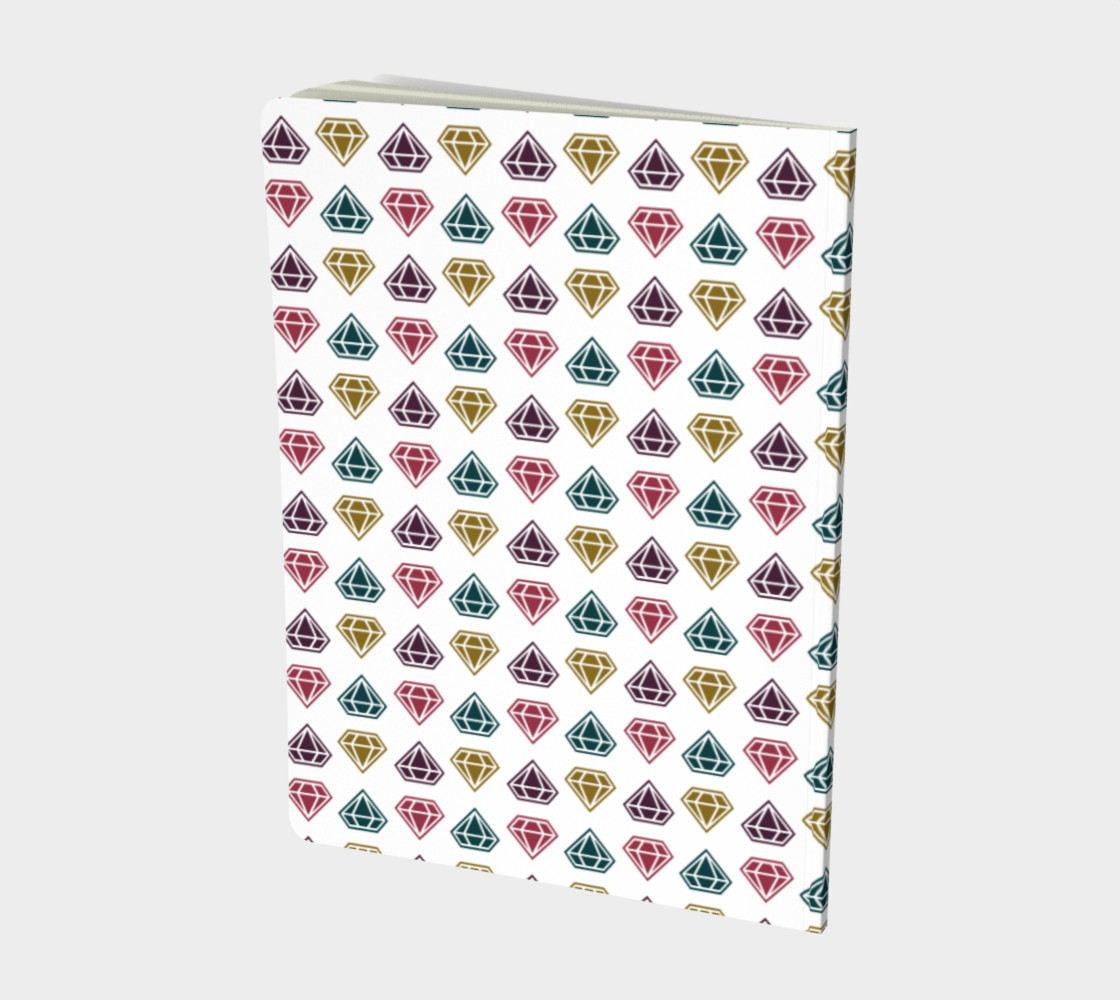 Yas Queen! - Colorful Diamond Pattern Notebook preview #2