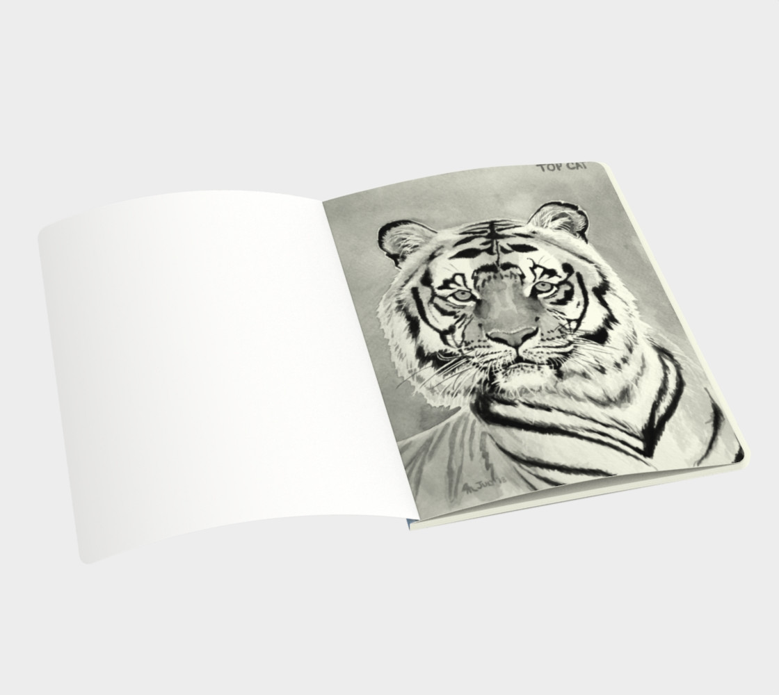 """Top Cat"" Tiger - Note Book preview #3"