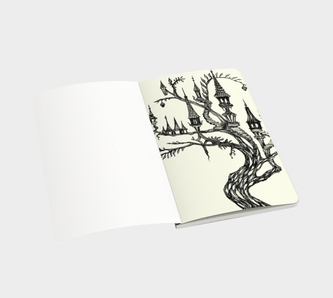 Carnival Tree Notebook preview #3