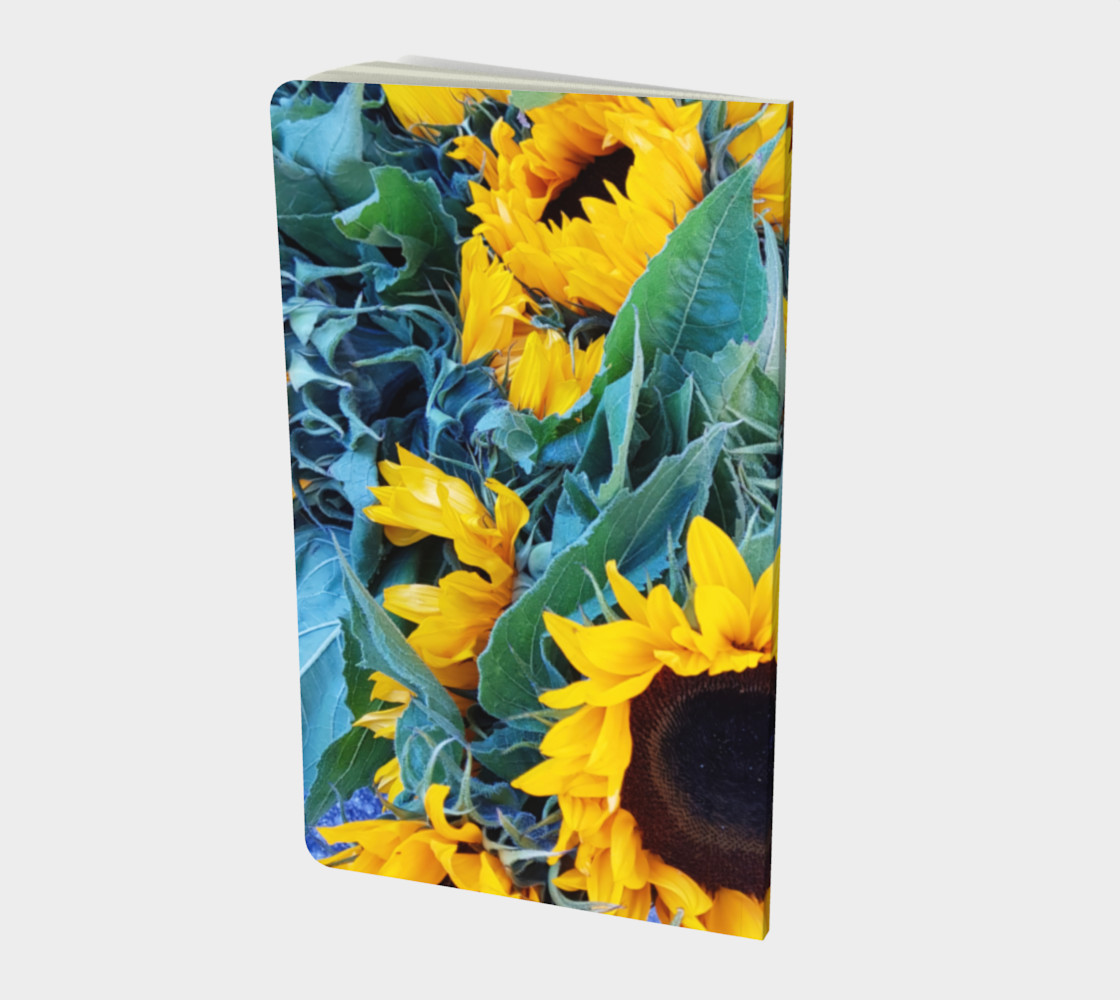 notebook sml sunflowers preview #2