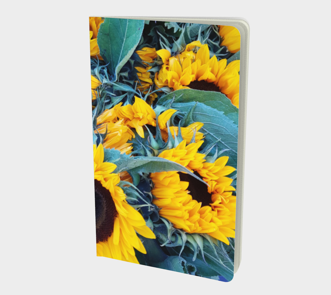 notebook sml sunflowers preview #1