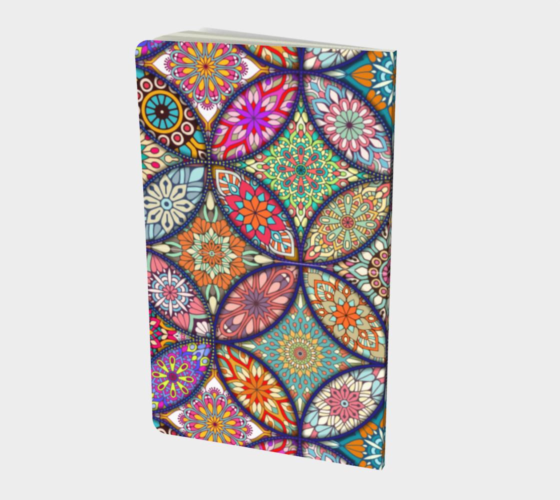 Vibrant Mandalas Small Notebook preview #2
