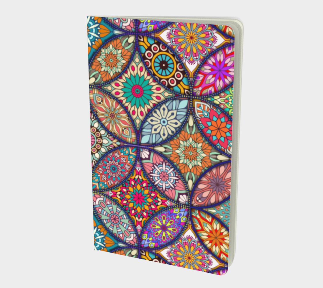 Vibrant Mandalas Small Notebook preview #1