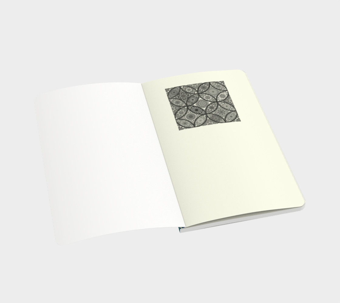 Vibrant Mandalas Small Notebook preview #3