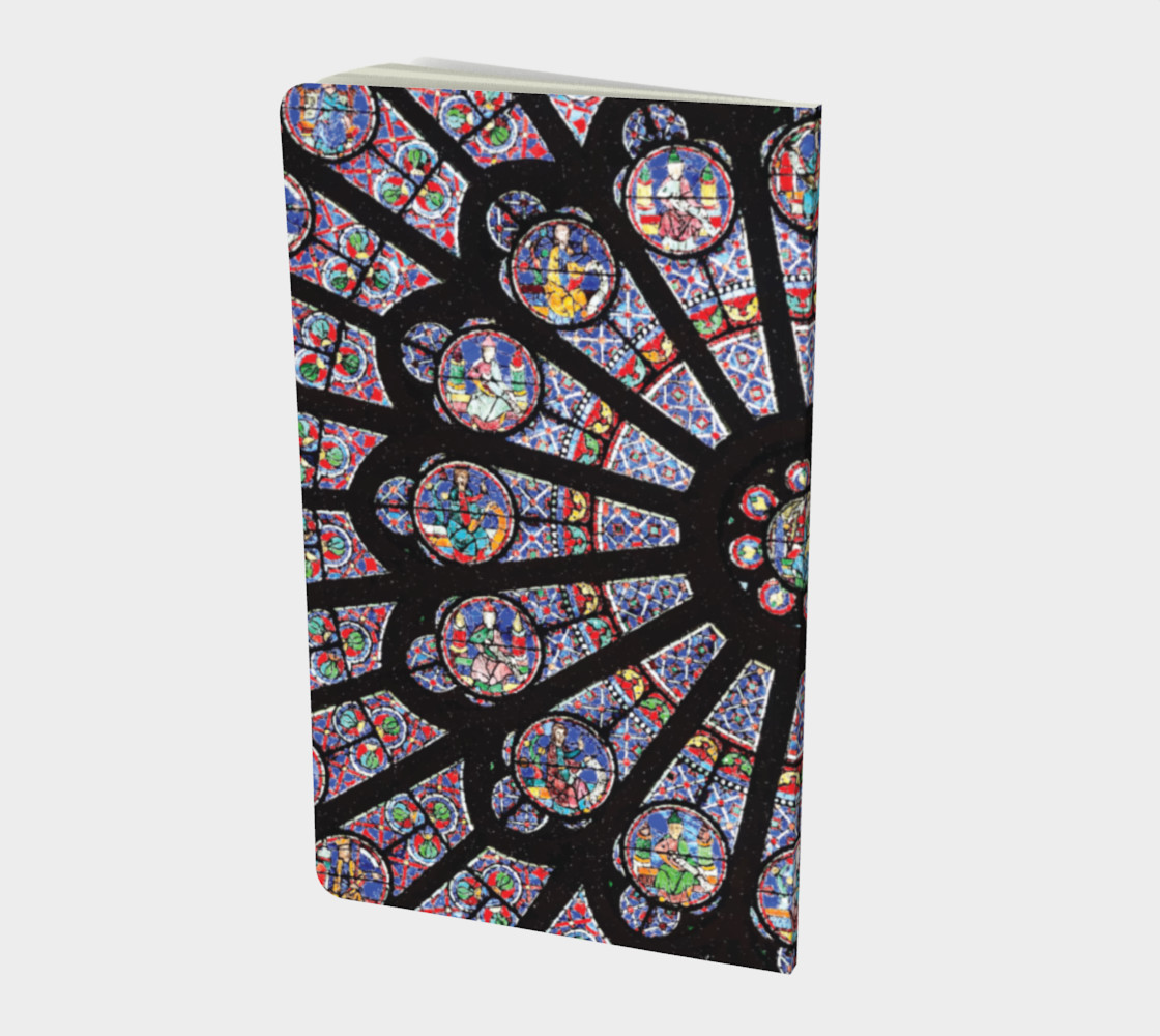 Rose South Window, Notre Dame Paris Small Notebook preview #2