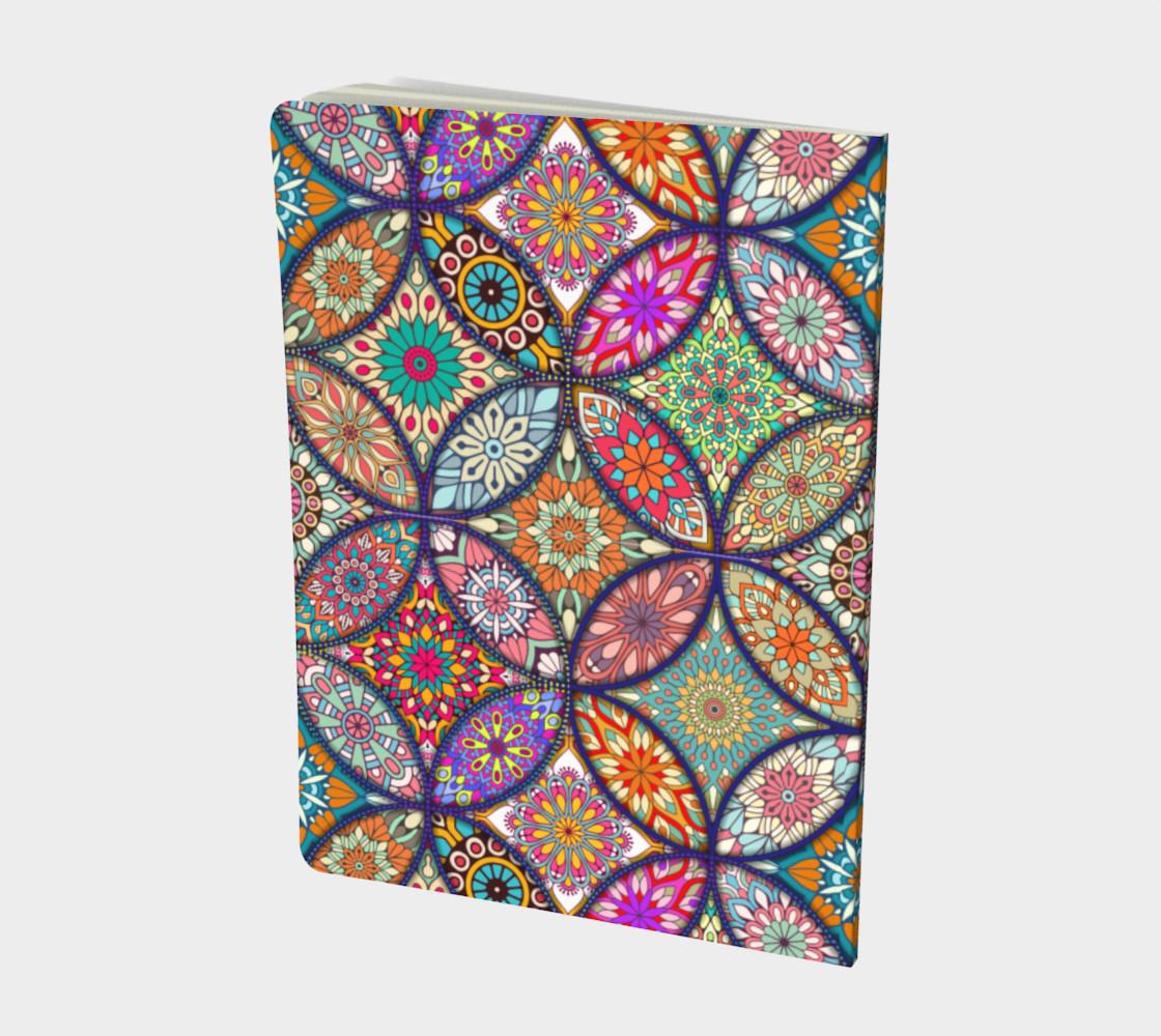 Vibrant Mandalas Large Notebook preview #2