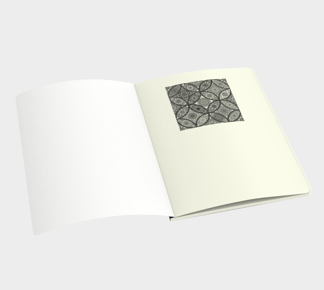 Vibrant Mandalas Large Notebook preview #3