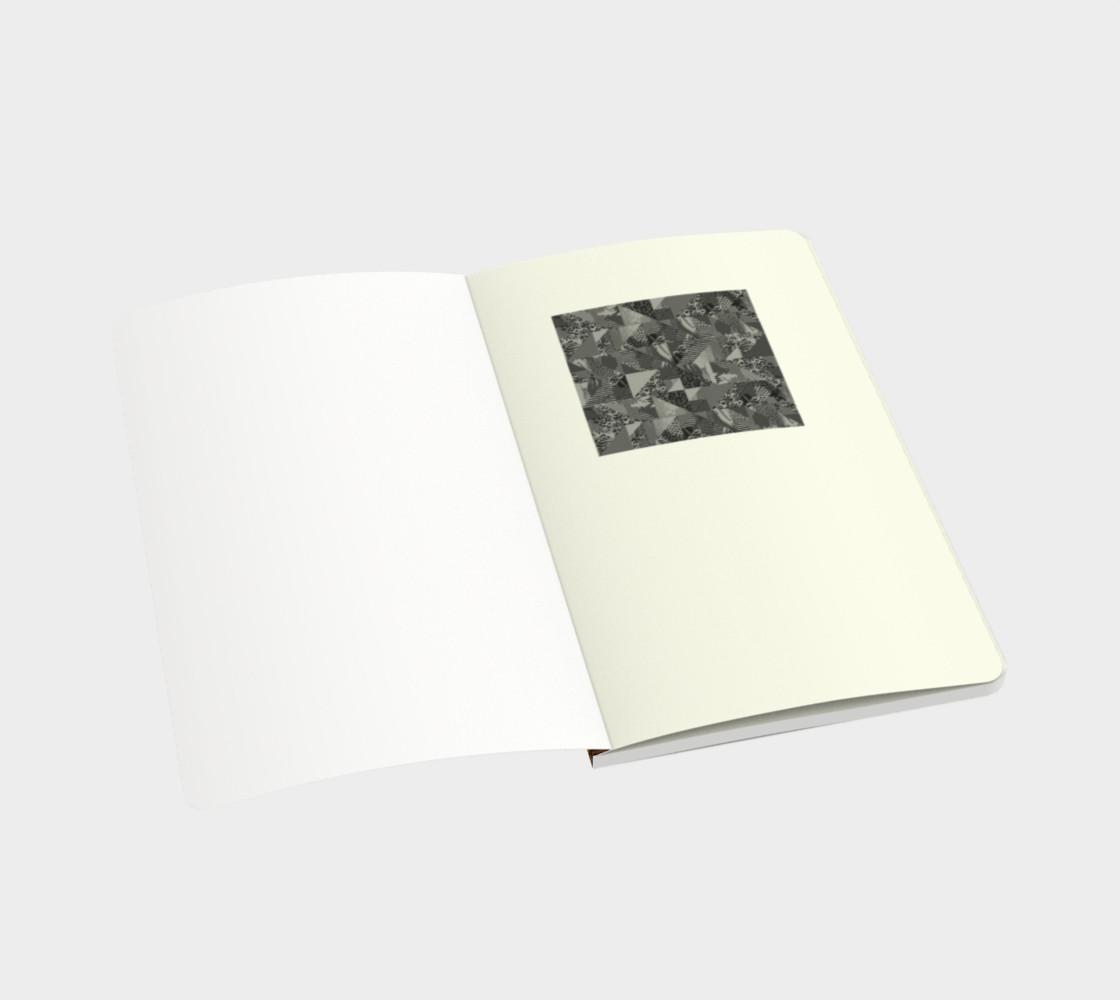 Abstract Safari Print Small Notebook preview #3