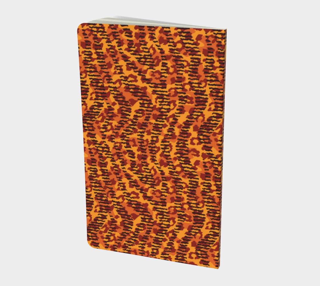 Animal Stripes and Spots Small Notebook preview #2