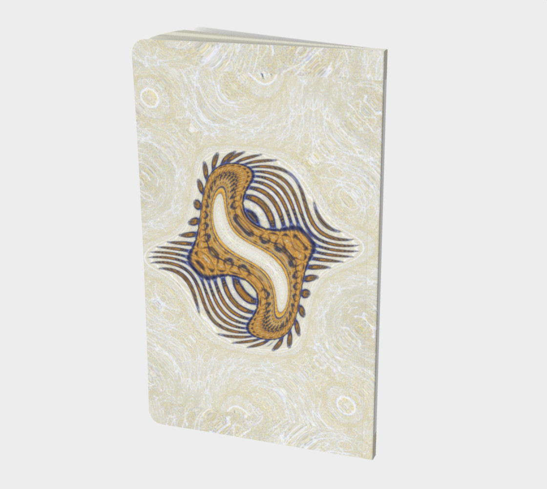Aperçu de (SMALL) Yoga Woman Victory Symbol Notebook (48-pgs. blank) #2