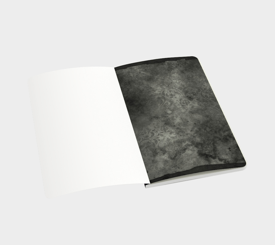 Floral Purple Hombre Notebook preview #3