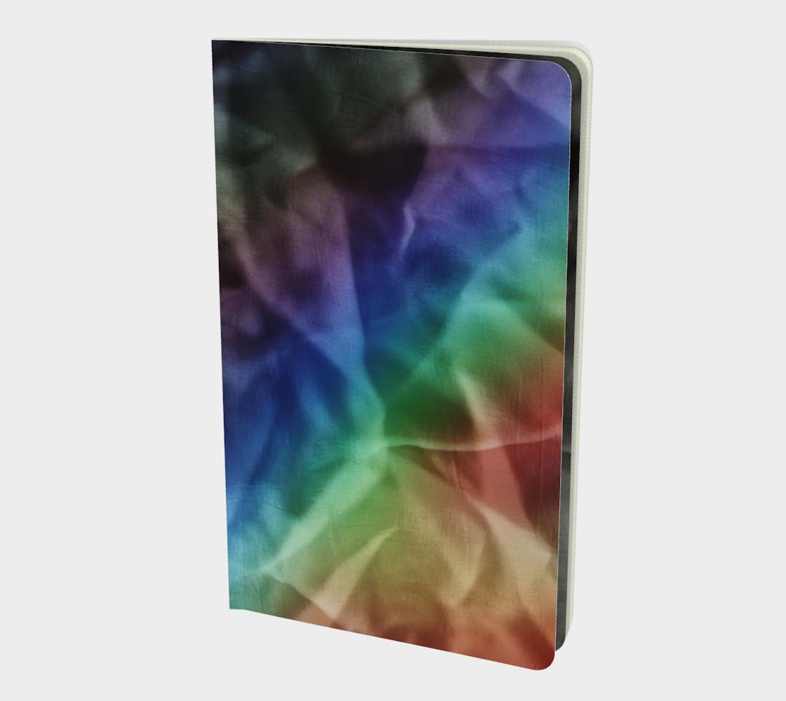 Rainbow Pride Crinkle Notebook preview #1
