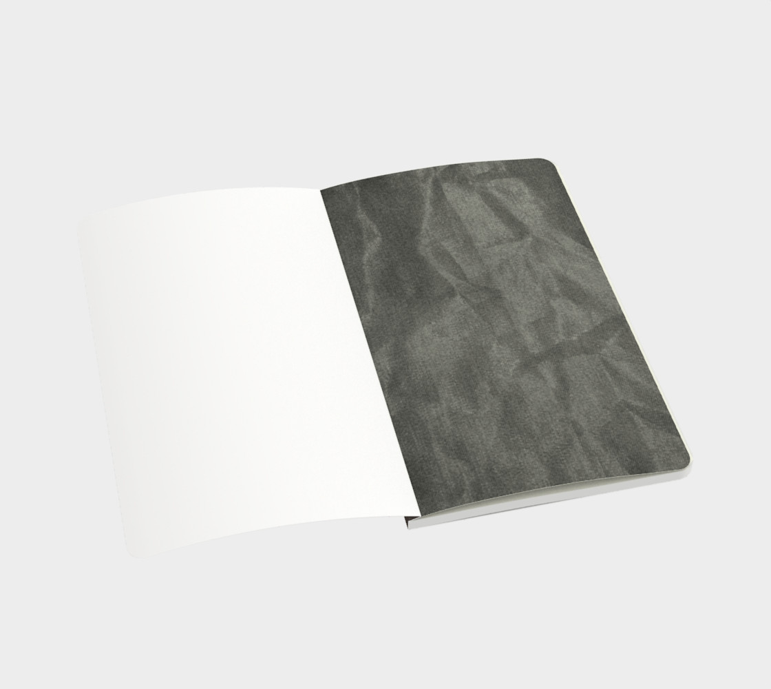 Crinkled Taupe Velvet Notebook preview #3