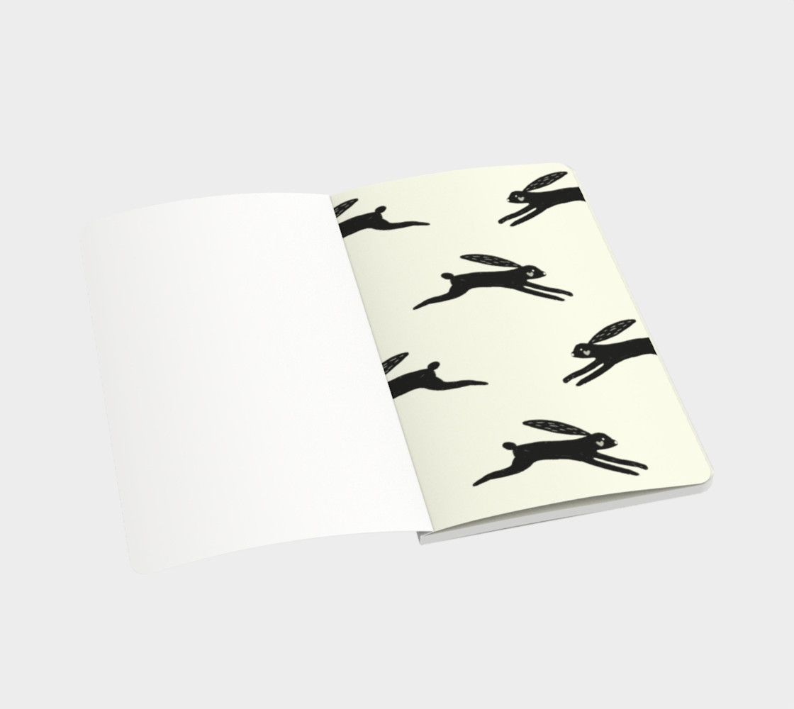 Black Rabbit Contemporary Notebook preview #3