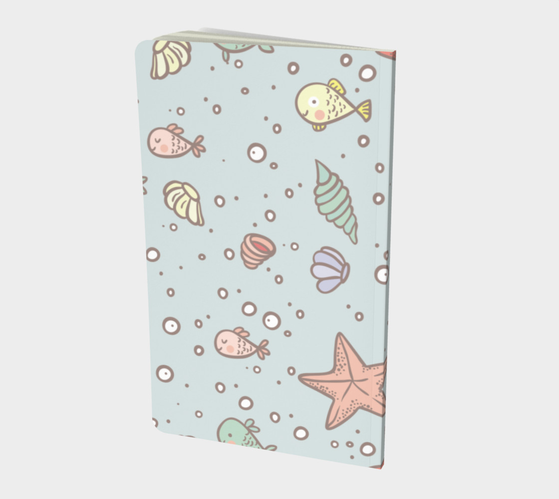 Under The Sea Notebook preview #2