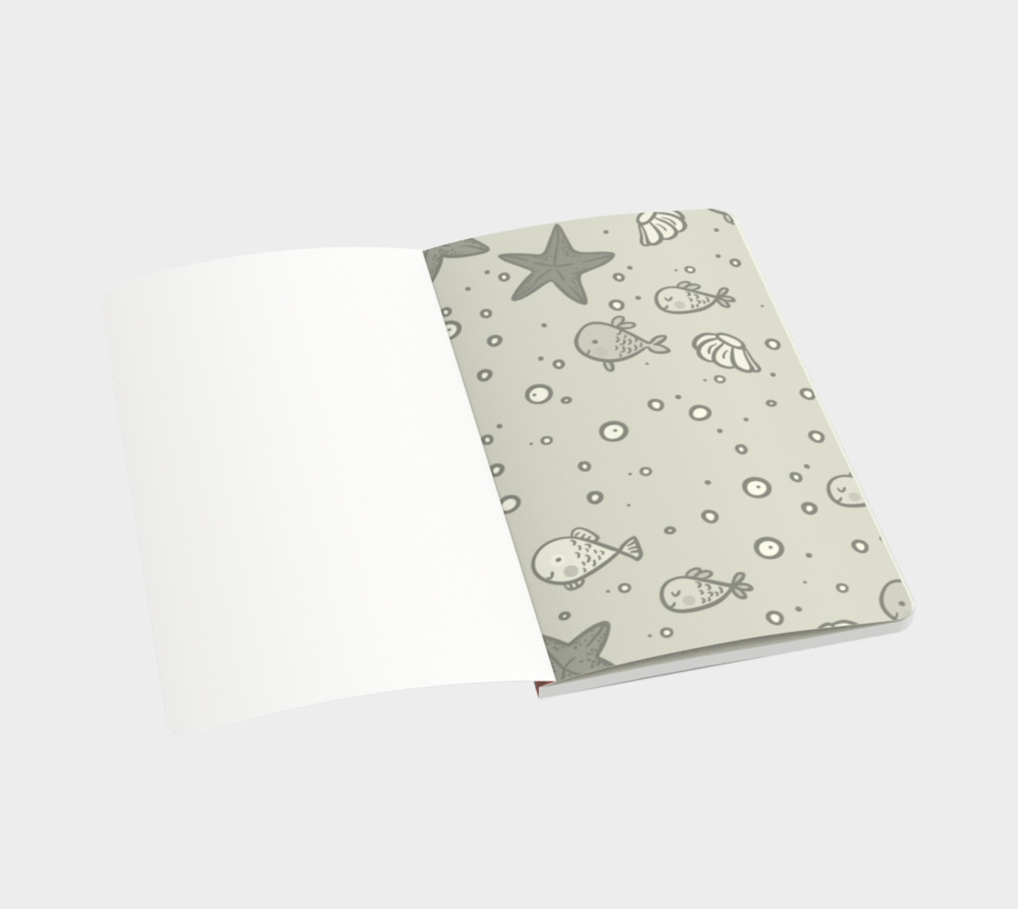 Under The Sea Notebook preview #3