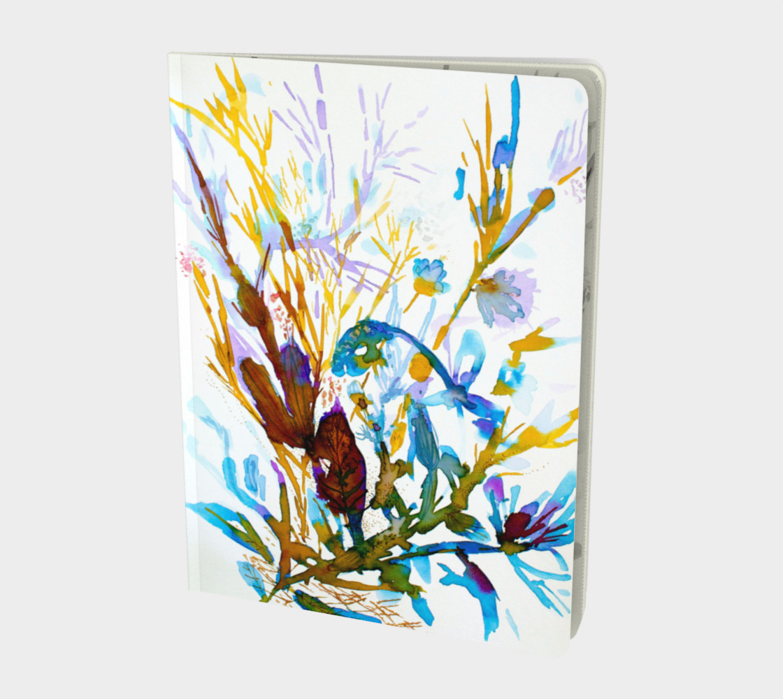Aperçu de Carnet Blue Seaweeds #1