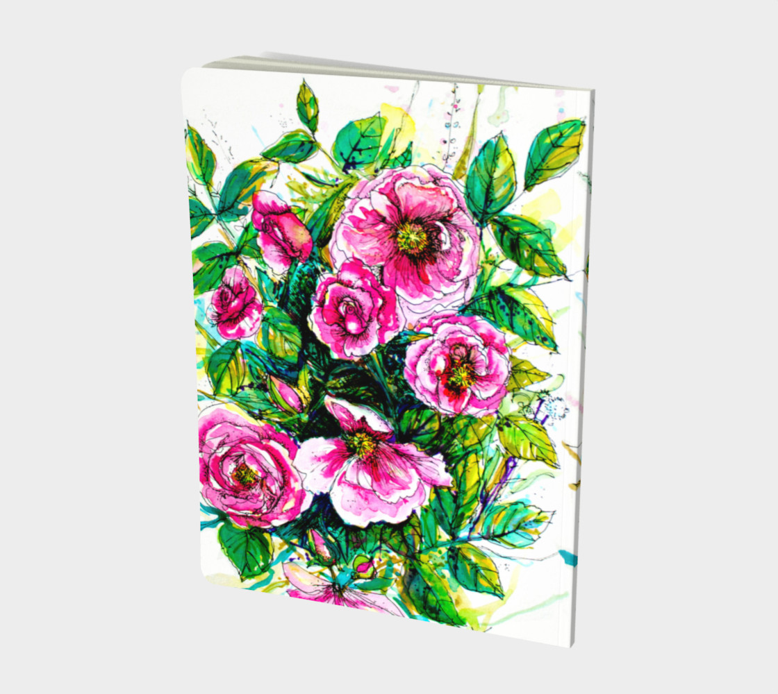 Carnet Wild Roses preview #2
