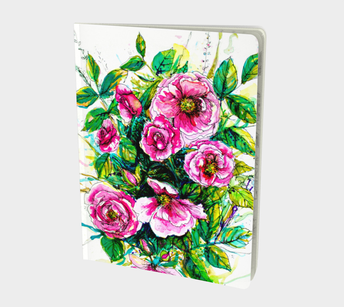 Carnet Wild Roses preview #1