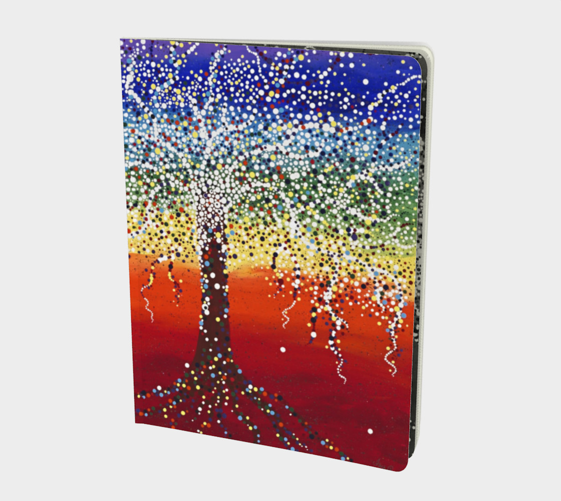 chakra tree note book Miniature #2