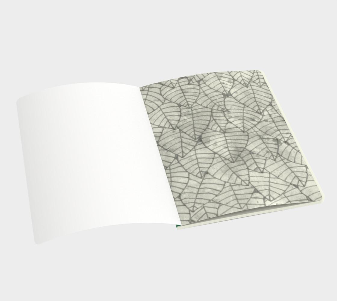Aperçu de Green foliage Large Notebook #3