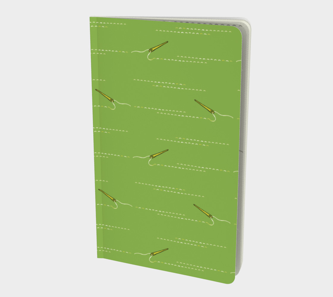 Sewing Green notebook preview #1